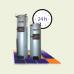 Твердотопливный котел Candle (35 кВт) длительного горения